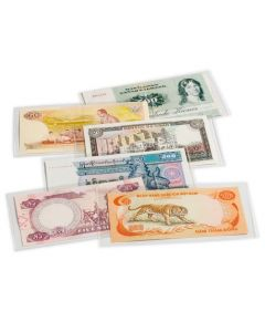 Fundas protectoras para billetes de banco BASIC 176 x 90mm