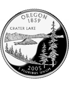 Cuarto de dolar - 2005 Oregon (Quarters Dollars)