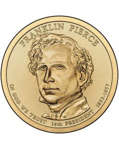 Estados Unidos 1 Dolar 2010 Franklin Pierce  P-D 14º