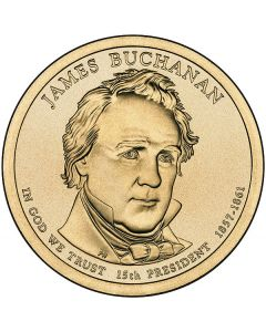 Estados Unidos 1 Dolar 2010 James Buchanan P-D 15