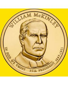 Estados Unidos 1 Dolar 2013 William McKinley P-D 25º presidente.