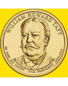 Estados Unidos 1 Dolar 2013 William Howard Taft 27º (P-D)
