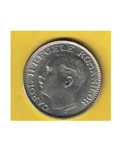 Moneda Rumania 100 lei 1936 S/C-