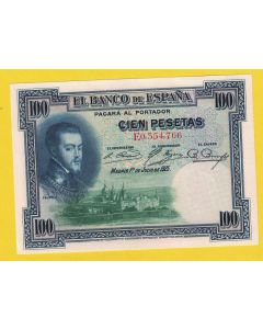 Billete 100 ptas 1 julio 1925 S/C