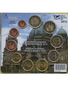 2012 EuroSet Estuche Oficial de Euros España. World Money Fair