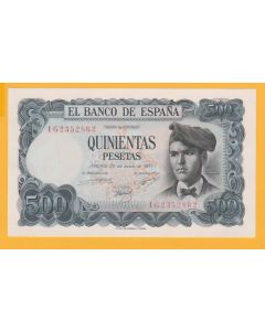 billete 500 ptas 1971 S/C
