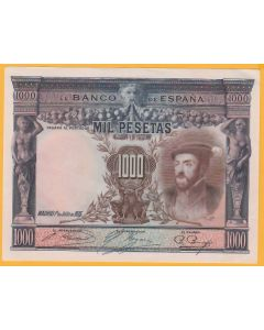 Lote 1 billete 1000 ptas 1925EBC