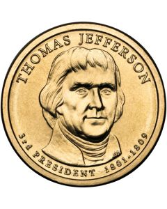 Estados Unidos 1 dolar 2007 Thomas Jefferson P-D